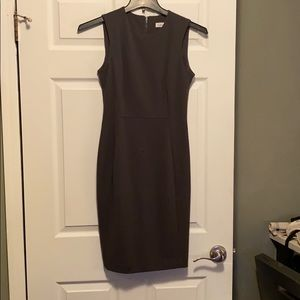 Dark gray business dress